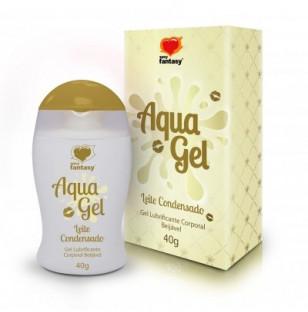 Gel Lubrificante Aquagel Beijável de Leite Condensado 40g