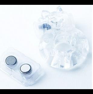 Anel Vibratório Ursinho - Troca Bateria Fácil